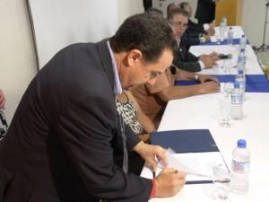 Assinatura do Convênio com o IBAPE