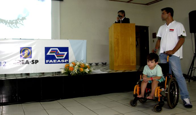 – Arqº Mario Bergamini e o Filho Luiz Otávio.