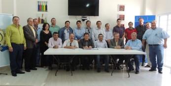 Participantes da reunião realizada na SENAG-Lins