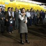 Prefeita Belkis na abertura oficial da 48ª FAPI