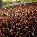 Show de abertura de Luan Santana reuniu mais de cem mil pessoas