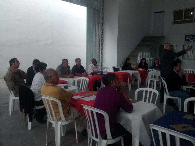 Palestra realizada em Carapicuiba