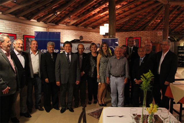 Participantes da Posse da Nova Diretoria