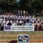 Equipes participantes do Torneio Regional de Futebol Society da UNACEN