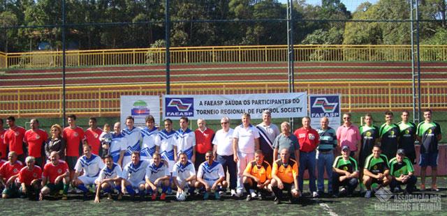 Equipes campeã, vice-campeã e 3ª colocada do Torneio.
