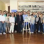 Participantes da solenidade de inauguração da UPS- Pirajuí