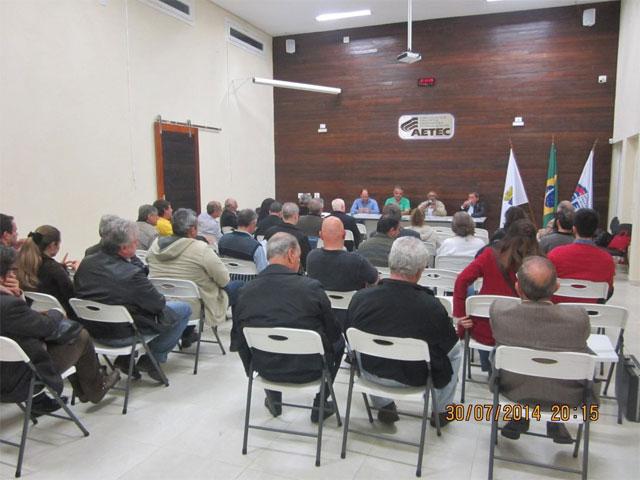 Reunião da Unaro realizada em Cotia