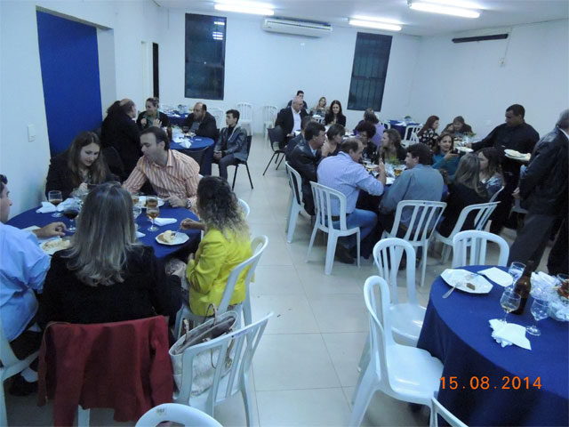 Jantar de comemoração dos 38 anos de fundação da AREA