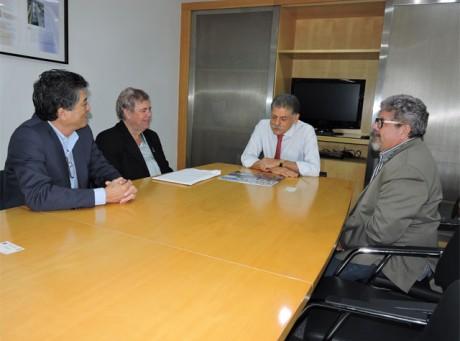 Reunião realizada no DAEE, em São Paulo