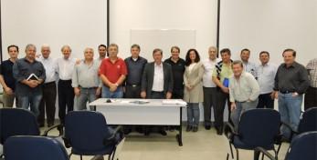 Reunião de Diretoria e Conselho da AEAARP