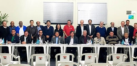 Participantes da reunião