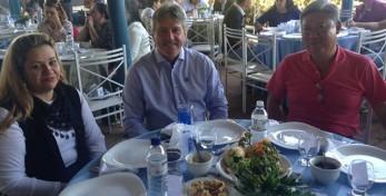 Almoço de comemoração de 35 anos de fundação da AEA