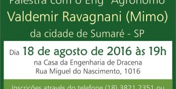 AEAR DRACENA - PALESTRA RESÍDUOS SÓLIDOS, URBANOS E INDUSTRIAIS - 19.08.16