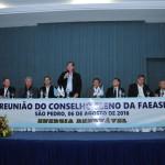 Mesa Diretora da Abertura Oficial o Conselho Pleno