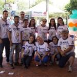 Organizadores do 14º Passeio Ciclístico da AERO