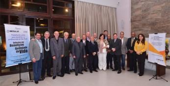Participantes do jantar da AEASCS