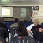 """Apresentação do Projeto """"RIOS + CIDADES"""" pelo Gerente de Gabinete da Presidência do CAU/SP, Arqtº e Urbª José Eduardo Tibiriçá."""